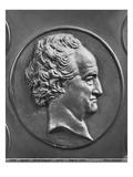 Johann Wolfgang Von Goethe  1829 (Bronze)