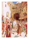 Jesus Entering Jesusalem