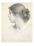 Beatrice Stuart  1912 (Pencil on Paper)