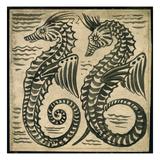 Sea-Horse (W/C on Paper)