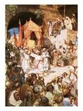 David Bringing Ark into Jerusalem