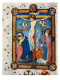 Crucifixion  Illustration from the Missal of Master Pancratino  C 1430 (Vellum)