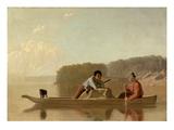 The Trapper's Return  1851