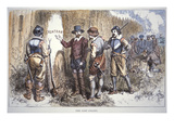 The Lost Colony of Roanoke (Colour Litho)