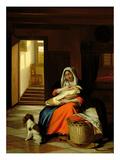 Mother Nursing Her Child  1674-76
