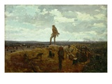 Defiance: Inviting a Shot before Petersburg  1864 (Oil on Panel)