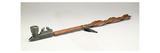 Pipe Stem  Chippewa  C1850 (Wood and Metal)