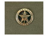 Texas Rangers Badge (Metal)