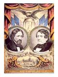 John Charles Fremont's Republican Party Poster  1856 (Colour Litho)