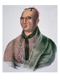 Joseph Brant (1742-1807) Chief of the Mohawks (Colour Litho)