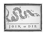 Join  or Die (Litho)