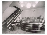 The Bar Torcy  Designed by Deschanel and J Dussolier  1920S (B/W Photo)