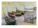 Boats on the Beach  1883