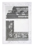 Interior Frieze and Cornice of the Temple of Aesculapius