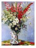 Vase of Flowers, 1878 Reproduction d'art par Claude Monet