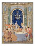 Illustration from 'Les Liaisons Dangereuses' by Pierre Choderlos De Laclos (1741-1803)