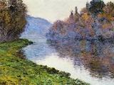 The Seine at Jenfosse  1884