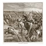 The Battle of Marathon (Litho)
