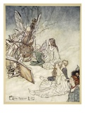 And a Fairy Song  Illustration from 'Midsummer Nights Dream' by William Shakespeare  1908