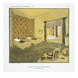 Bedroom for Two Small Girls  from 'Repertoire of Modern Taste'  Published 1929 (Colour Litho)