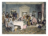 London to York - Time's Up! - an Incident in the Old Coaching Days  Published 1897 (Aquatint)