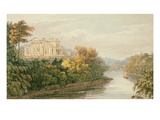 The Seat of GB Greenough Esq  Regent's Park  from Ackermann's 'Repository of Arts'