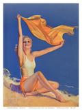 Sunshine Pin Up Girl c1940s
