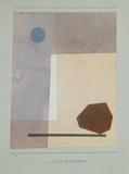 Gewagt Wägend Reproduction pour collectionneurs par Paul Klee