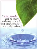 Kind Words Reproduction d'art