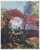 The Wine Alcove  1917