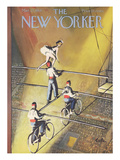 The New Yorker Cover - March 27  1954