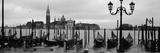 Gondolas with a Church in the Background  Church of San Giorgio Maggiore  San Giorgio Maggiore