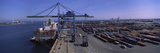 Cargo Containers at Port of Marseille  Fos-Sur-Mer  Marseille  Bouches-Du-Rhone  Provence-Alpes-