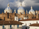 Low Angle View of a Cathedral  Immaculate Conception Cathedral  Cuenca  Azuay Province  Ecuador
