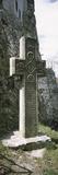 Stone Cross at a Castle  Bran Castle  Brasov  Transylvania  Mures County  Romania
