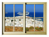 View from the Window at Mykonos Island 1