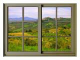 View from the Window at Castiglione D'Orcia