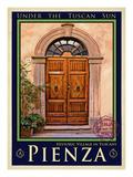 Door in Pienza Tuscany 5