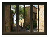 View from the Window at Pienza  Tuscany