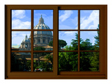 View from the Window at Vatican Garden 1
