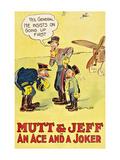 Mutt and Jeff - an Ace and a Joker