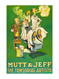 The Tonsorial Artists  Mutt and Jeff