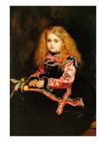 A Souvenir of Velasquez - a Little Girl with a Lemon Sprig