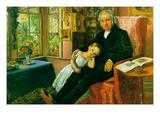 James Wyatt and His Granddaughter