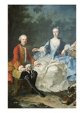 Count Giacomo Durazzo in the Guise of a Huntsman with His Wife