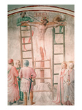 Christ Being Nailed to the Cross by Angelico