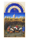 Le Tres Riches Heures Du Duc De Berry - December