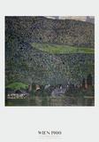 Litzlberg am Attersee Reproduction d'art par Gustav Klimt