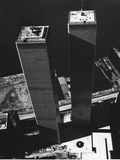 World Trade Center 1973 Papier Photo par David Pickoff