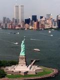 New York Landmark Statue Liberty